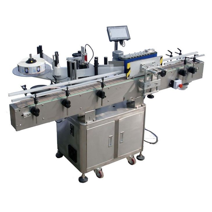 自動丸瓶粘着ステッカーラベル印刷機