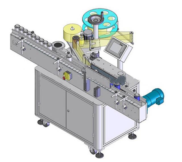 自動垂直ラウンドボトルラベリングマシン