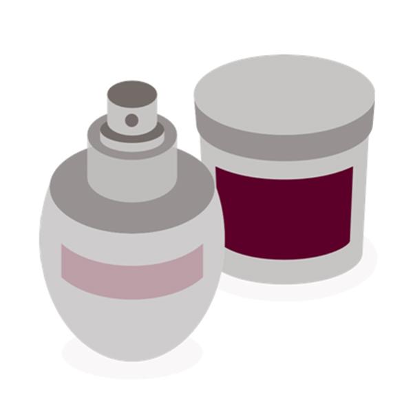 缶&ジャー化粧品ラベル