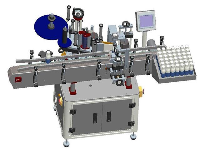 ラベル印刷機の図面