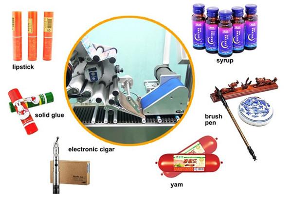 高速水平ラップラウンドボトルバイアル注射器ラベリング機器の詳細